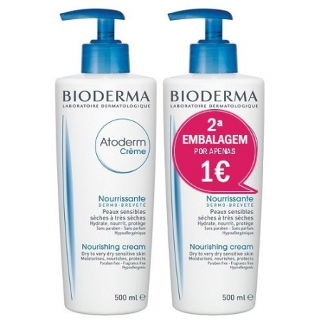 Atoderm Bioderma Promo Cr 500 Ml X 2
